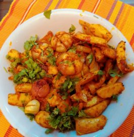 Arbi Do Pyaza Curry Recipe