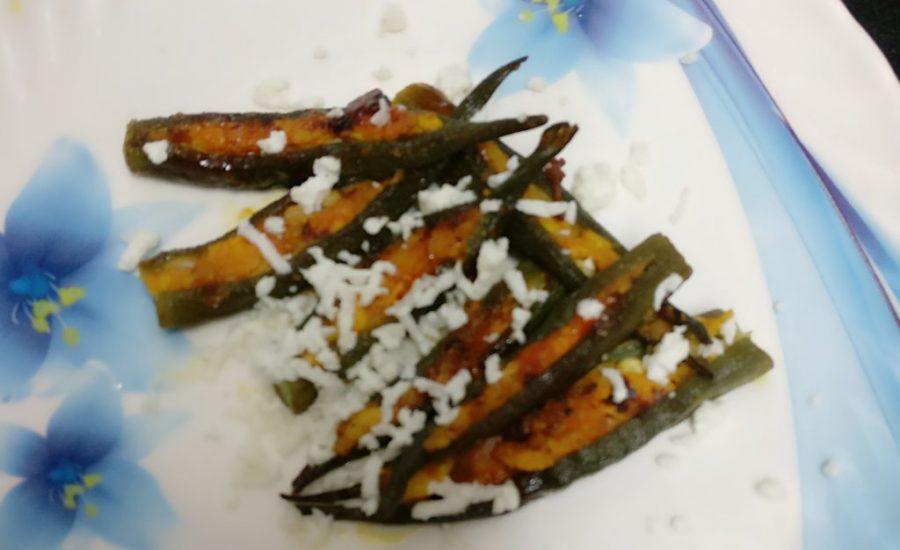 Stuffed Paneer Bhindi - Flavorsome Curry