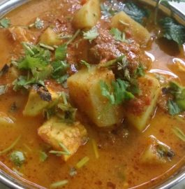 Paneer Potato Curry - Delicious And Healthy