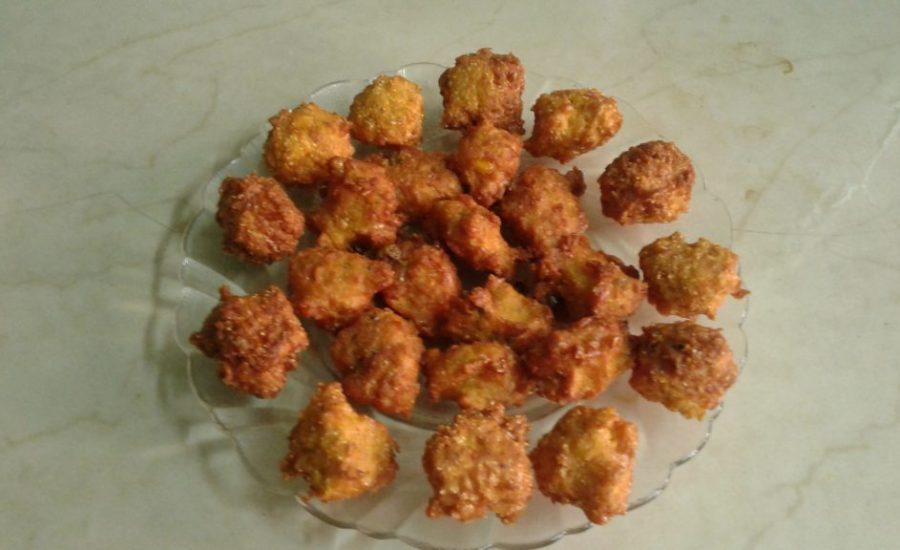 Instant Sweet Corn Moong Dal Pakora Recipe