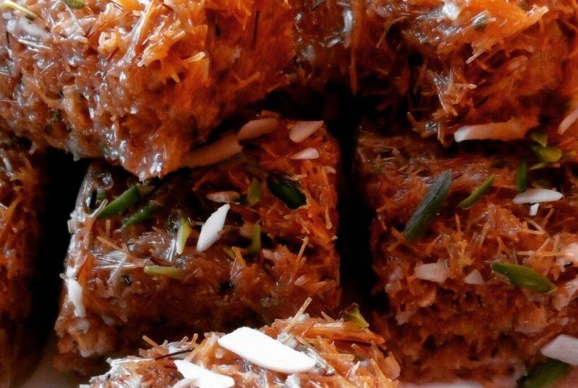 Vermicelli Barfi Recipe | Seviyaan Paak Recipe