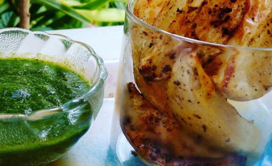 Cheesy Baked Potatoes Wedges Recipe