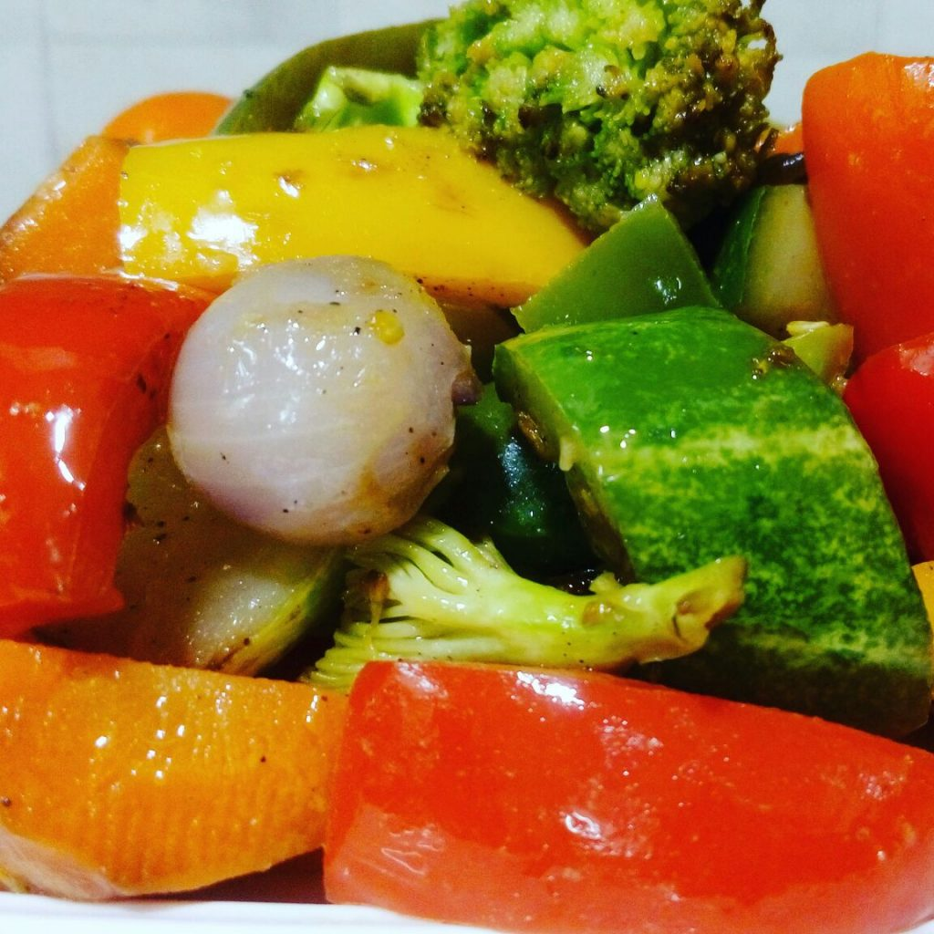 Baked Vegetable Salad Recipe