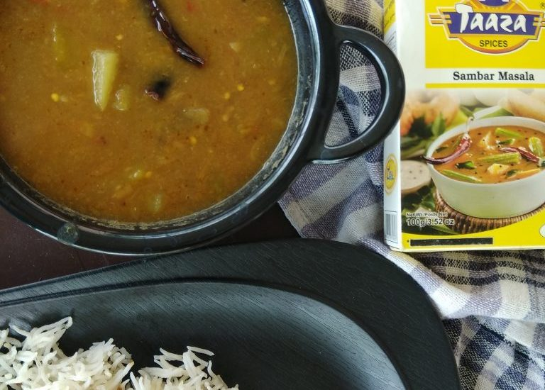 Vegetable Sambhar Recipe