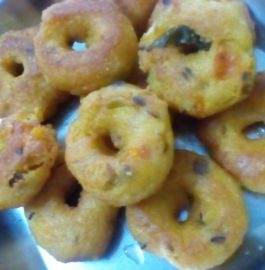 Leftover Upma Vadas Recipe