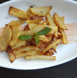 Garlic Potato Fries Snack Recipe