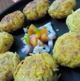 Cheese Stuffed Noodles Pakora Recipe