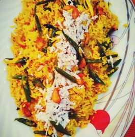 Green Beans Rice Recipe