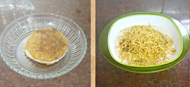 Bread Idli Chaat Recipe