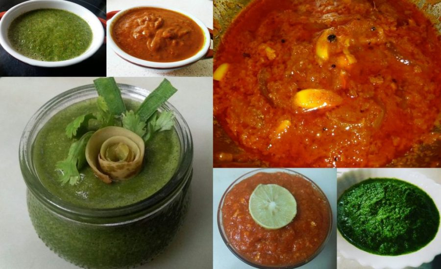 7 instant and yummy Indian chutney or dip recipes