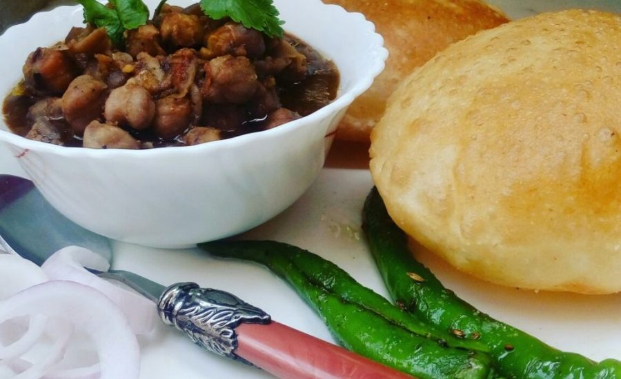 Chole Bhature In Punjabi Style Recipe