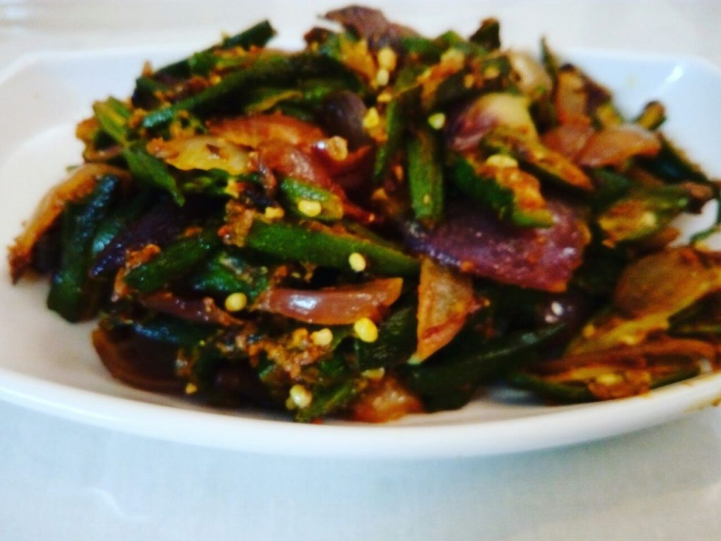 Bhindi do pyaza recipe how to make bhindi do pyaza