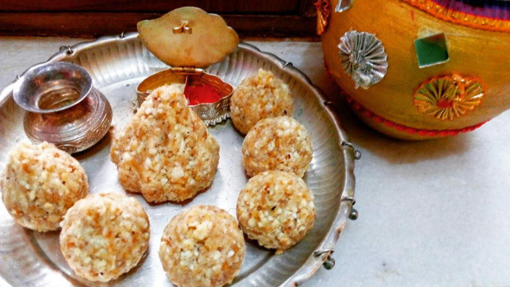 Dry Nuts Modak Recipe