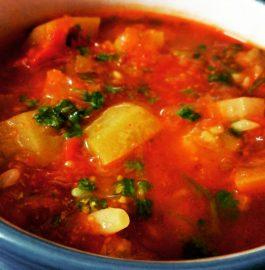 Lauki Tamatar Curry Recipe