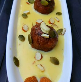 Gulab Jamun With Rabri Recipe