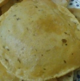 Kasuri Methi Poori Recipe