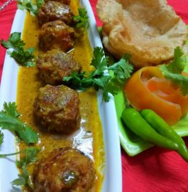 Kheer Kofta Curry (No Onion No Garlic) Recipe