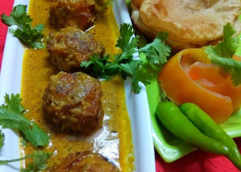 Kheer Kofta Curry (No Onion No Garlic) Recipe