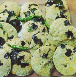 Green Moong Dal Idli Recipe