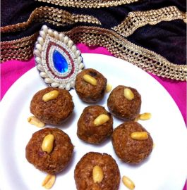 Papaya Coconut Ladoo Recipe