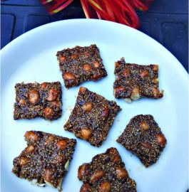 Ramdana And Peanuts Chikki Recipe