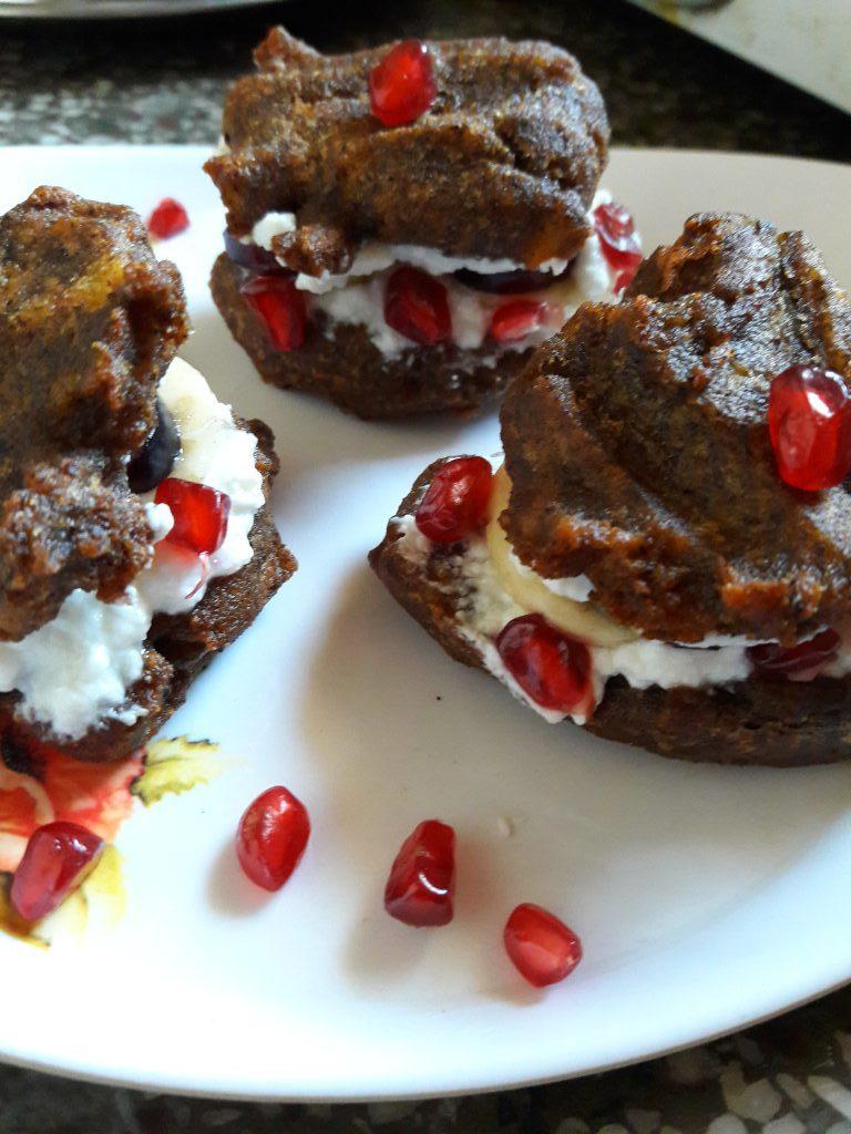 Kuttu Fruits Mini Burger Bites Recipe