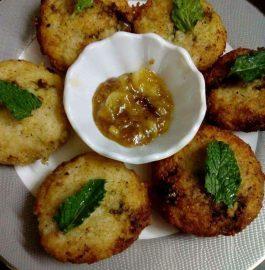 Falhari Tikki - Vrat Special Recipe
