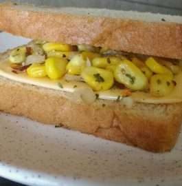 Cheese Corn Sandwich Recipe