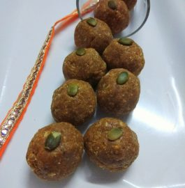 Instant Besan Coconut Laddu Recipe