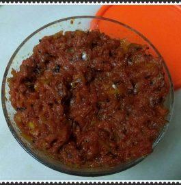Red Apple Thokku/Pickle Recipe