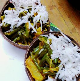 Green Beans Fry With Coconut Recipe