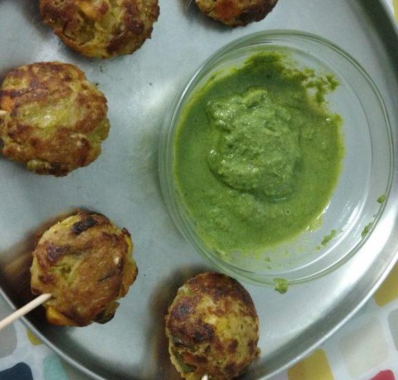Leftover Pulav Pakoda Recipe