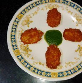 Sabudana Cutlets Recipe
