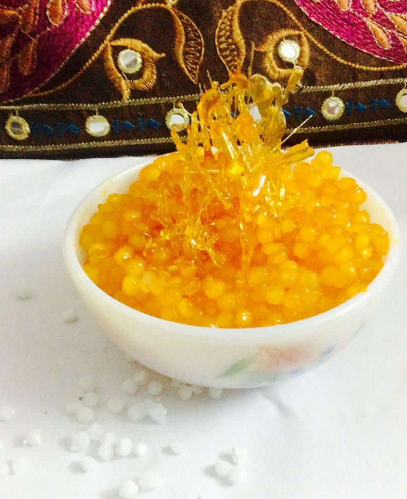 Sago Kesri Recipe