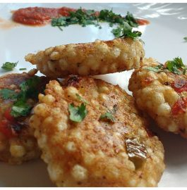Sabudana Cutlet Recipe