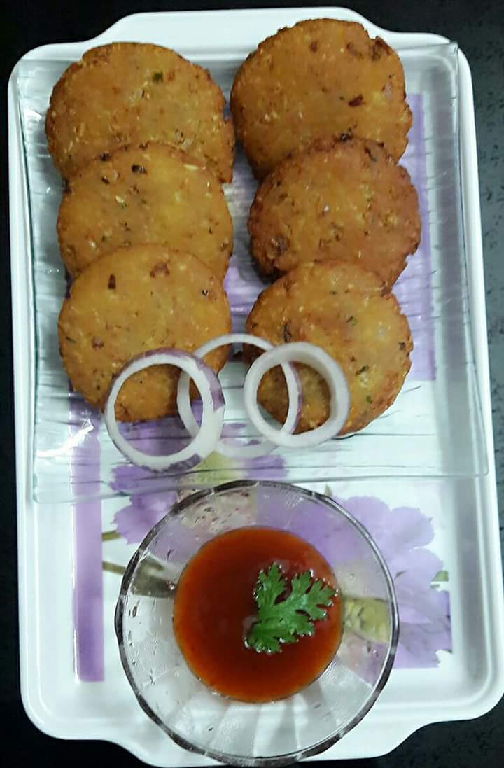 Moong Oats Tikki Recipe