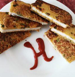 Spinach Bread Toast Recipe