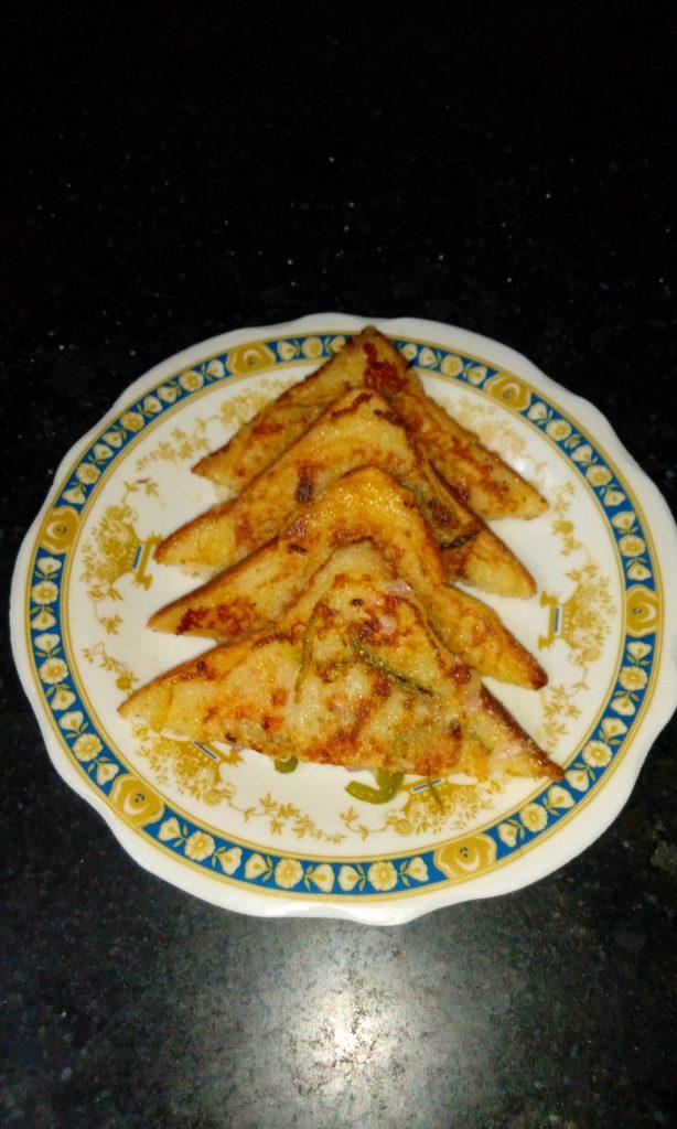 Bread Uttappam Recipe