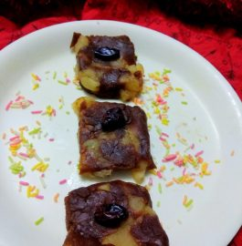 Apple Biscuits Barfi Recipe