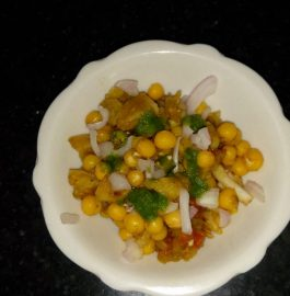 Ghugni Chaat Recipe