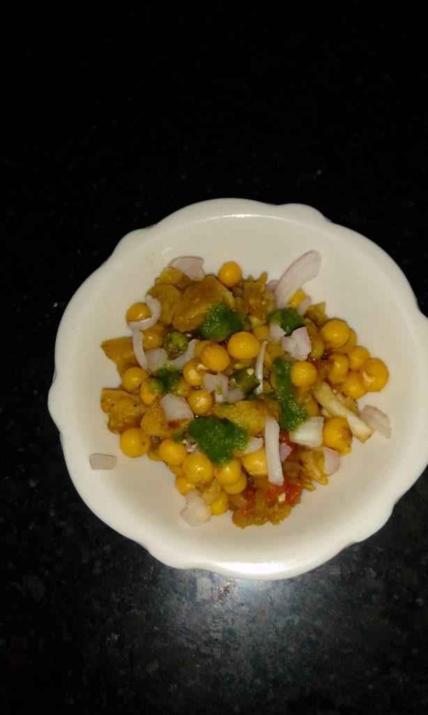 Ghugni Chaat Recipe