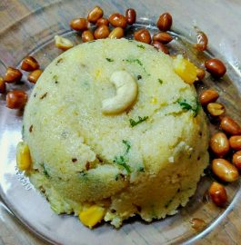 Sooji Upma With Corn Recipe