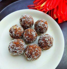 Besan Chocolaty Ladoos Recipe