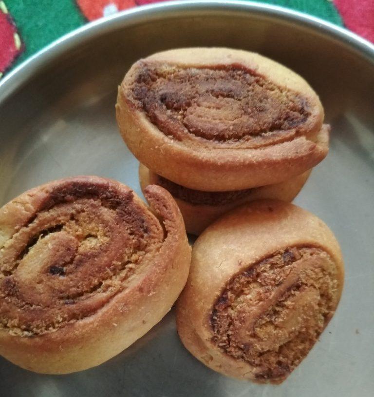 Bhakarwadi (Baked And Fried) Recipe