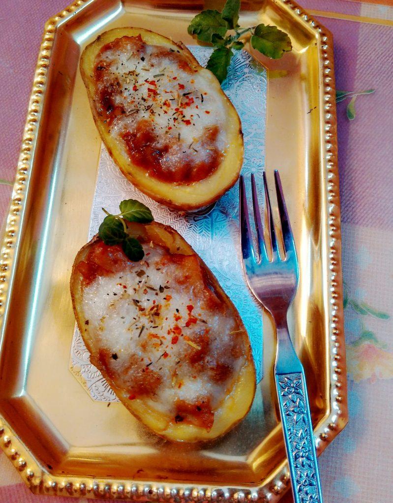 Cheesy Jacket Potatoes Recipe