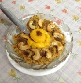 Oats Mango Halwa Recipe