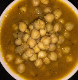 Chickpeas Curry - With A Twist of Tamarind Recipe