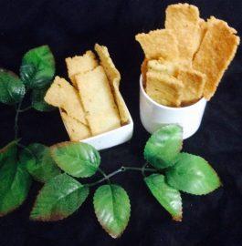Suji Coconut Ribbon Pakora Recipe