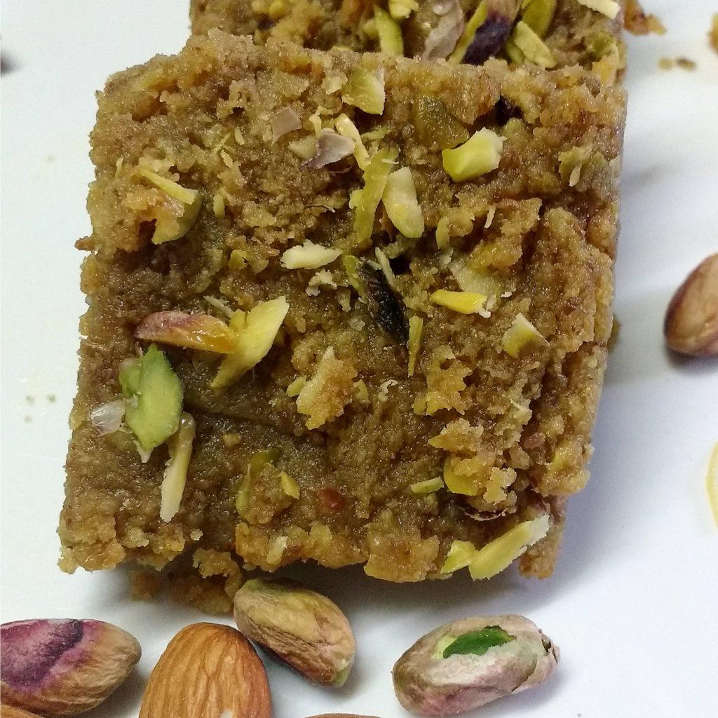 Kale Chane Ki Barfi Recipe
