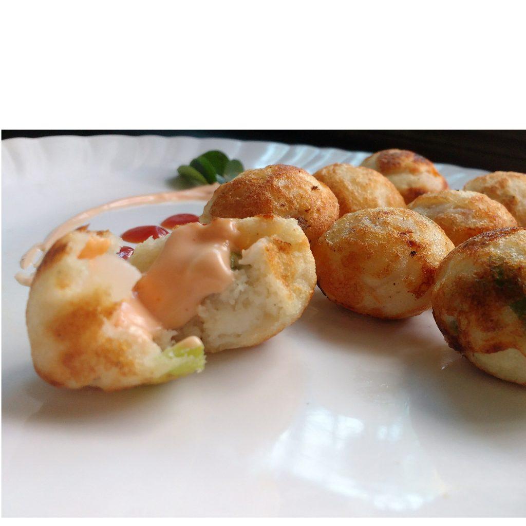 Stuffed Mayonnaise Appe Recipe